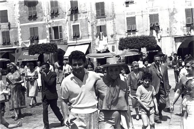 Elizabeth Taylor in Portofino