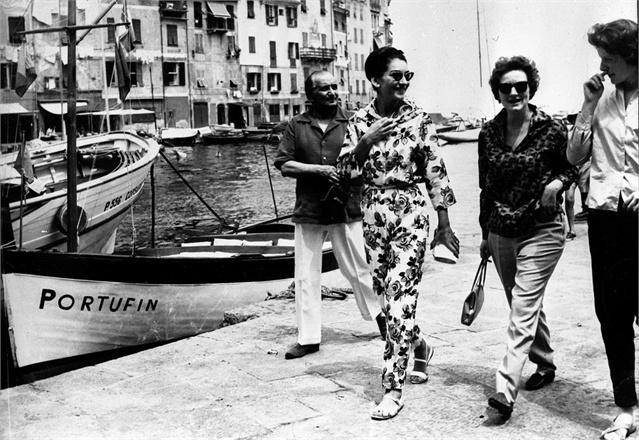 Maria Callas in Portofino