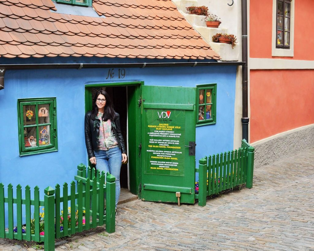 golden lane prague 5