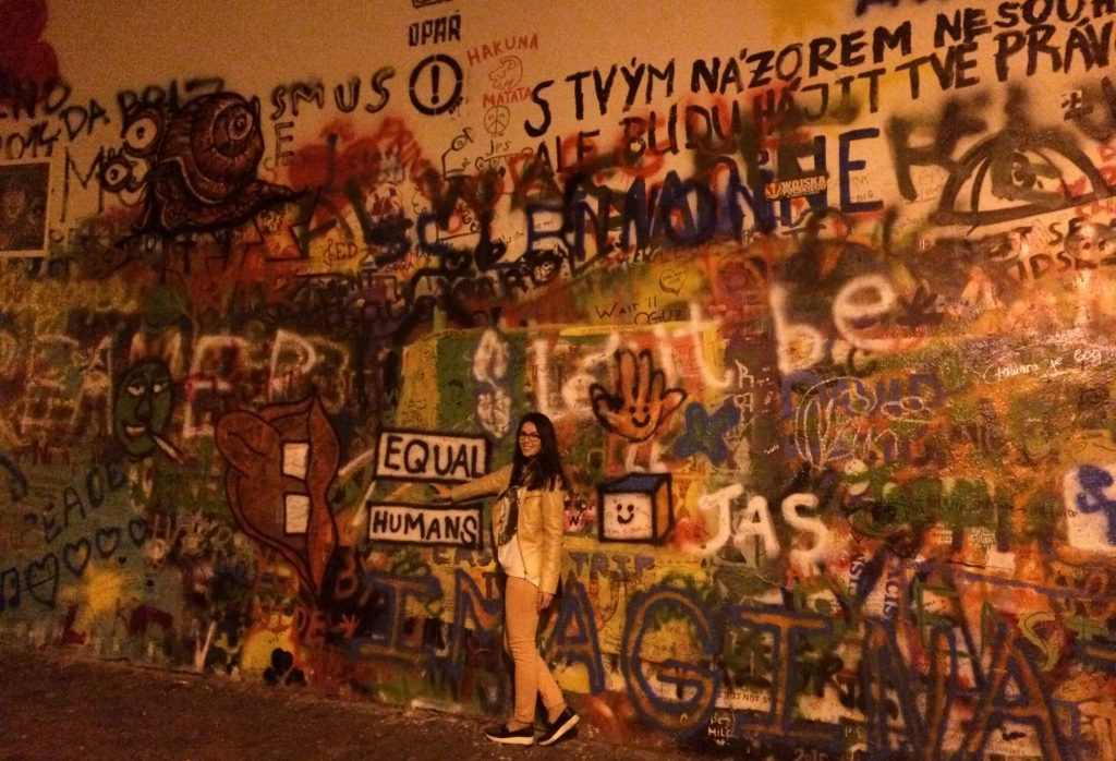lennon wall prague 1