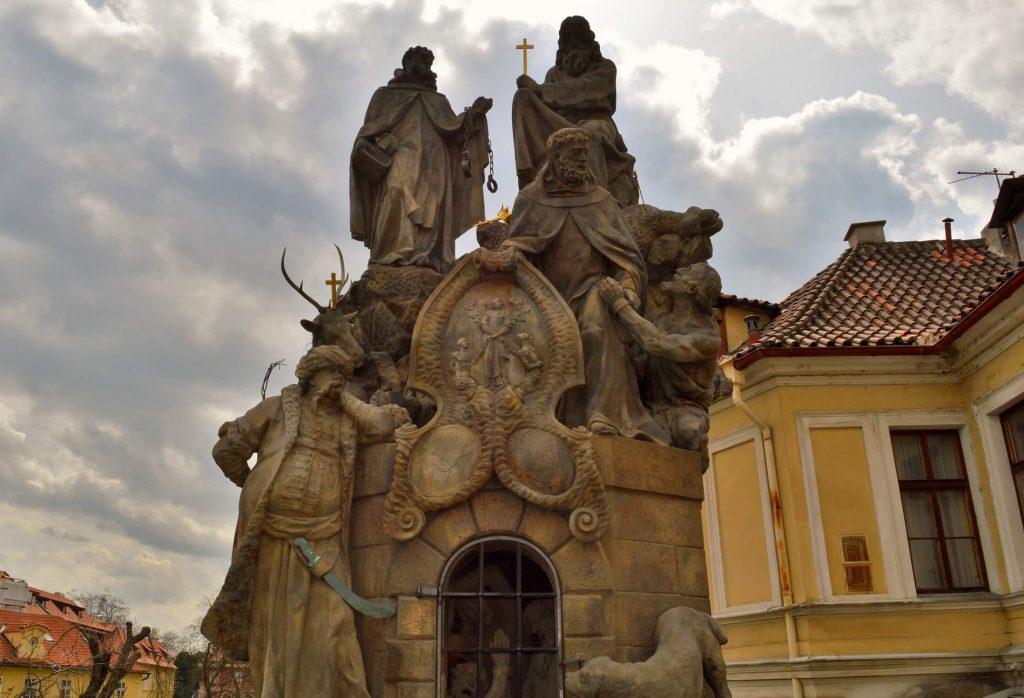 praga - podul carol 3
