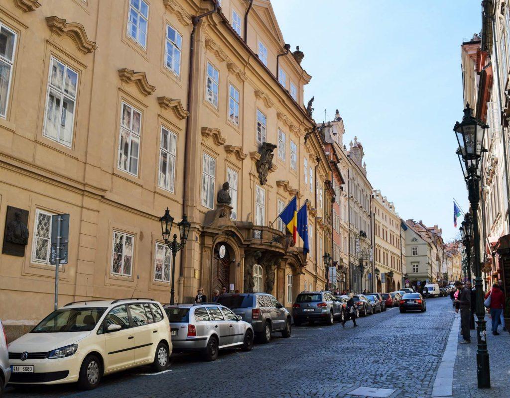 prague - nerudova street 7
