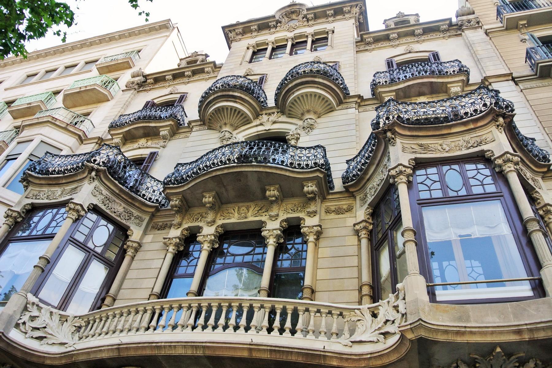 Barcelona, Passeig de Gracia, Casa Lleo Morera