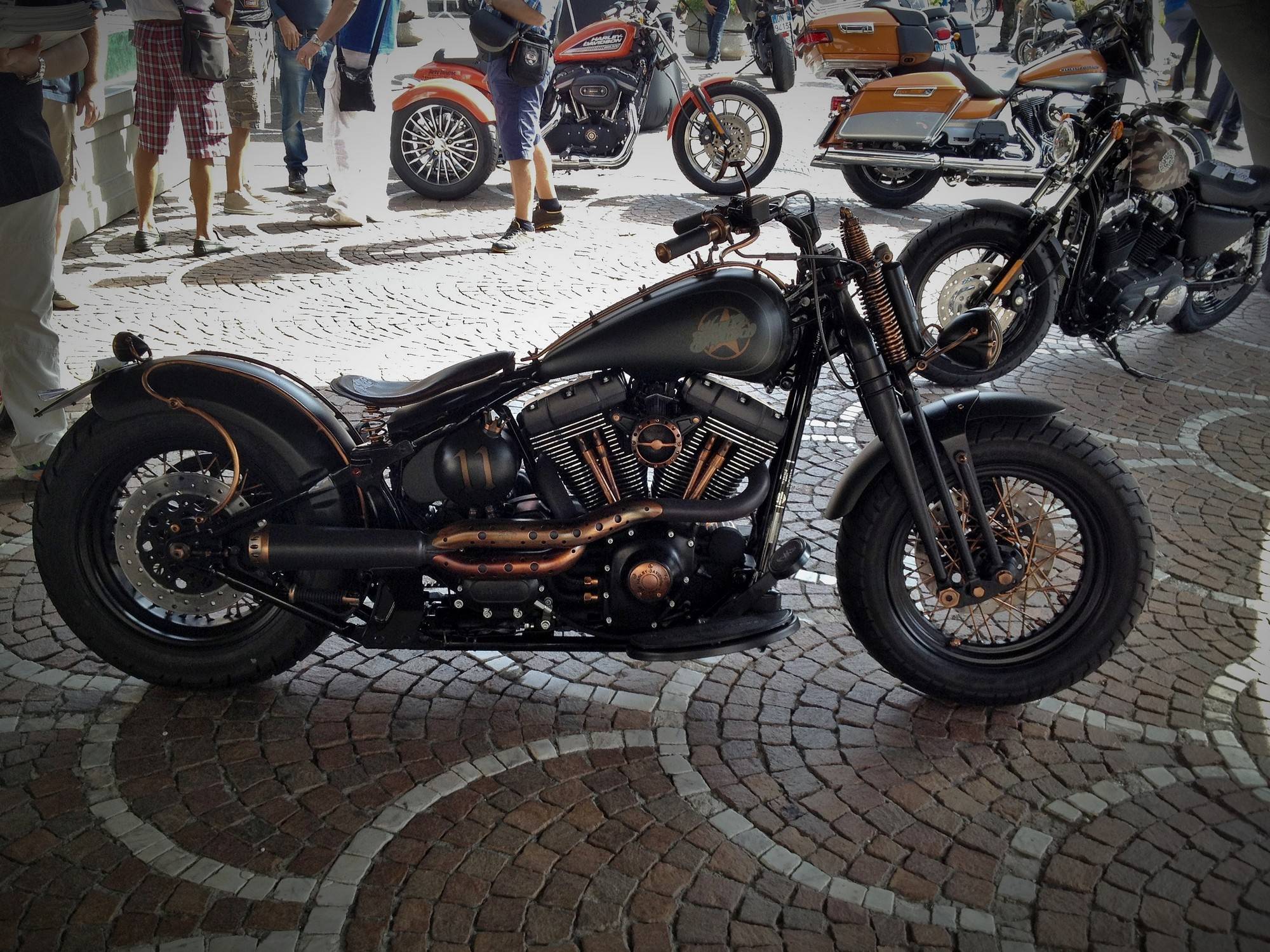 Harley Davidson in Sorrento