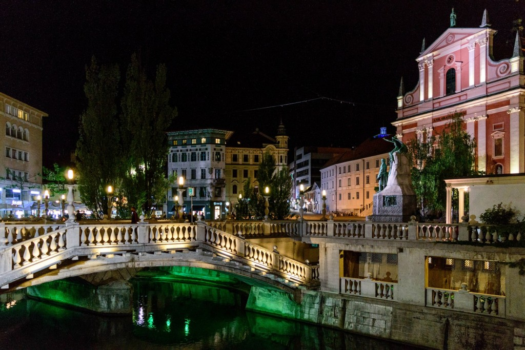 ljubljana by night - ivblog